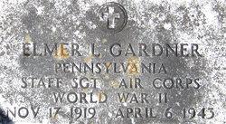 Sgt Elmer Leon Gardner
