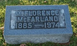 M Florence McFarland