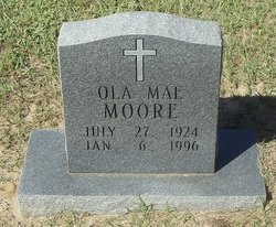 Ola Mae Moore