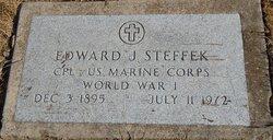 Edward J Steffek