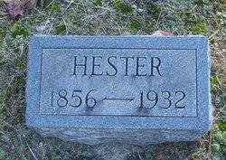 Hester <I>King</I> Isaacs
