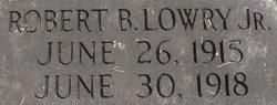 Robert B Lowry, Jr