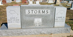 Carrie H. Storms