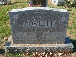 Myrtle H. Rowlett