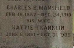 Hattie Leora <I>Franklin</I> Mansfield