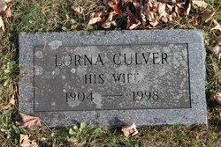 Lorna <I>Culver</I> Yell