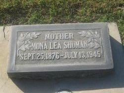 Mona Lea <I>Shackelford</I> Shuman