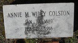 Annie M Wiley Colston