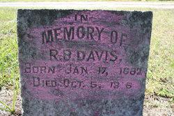 R. B. Davis
