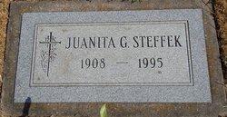 Juanita G <I>Schroeder</I> Steffek (Stadler)