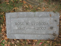 Rose M Svoboda
