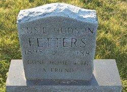 Susie <I>Hudson</I> Fetters