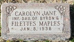 Carolyn Jane Maples