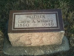 Carrie A Whinery
