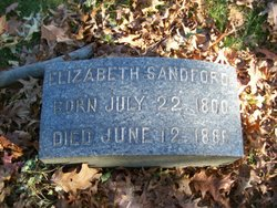 Elizabeth M. <I>Spear</I> Sandford
