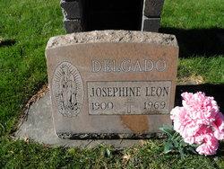 Josephine <I>Leon</I> Delgado