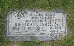 Richard T James, Sr