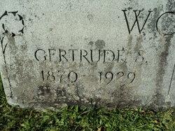 Gertrude <I>Ernst</I> Wood