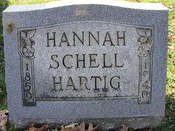 Hannah <I>Schell</I> Hartig