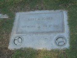 Ruby A. Jones