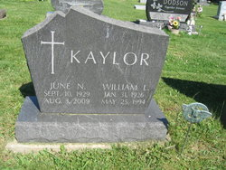 William Lee Kaylor