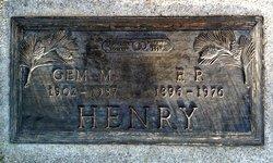 Gem M. <I>Stewart</I> Henry