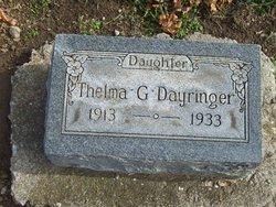 Thelma Gertrude Dayringer