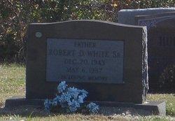 Robert D White, Sr