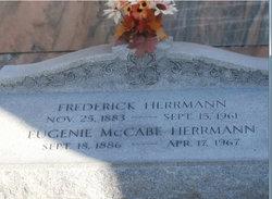 "Eugenie ""Jennie"" <I>McCabe</I> Herrmann"