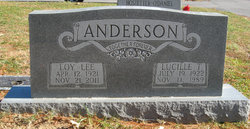 Lucille <I>Tinsley</I> Anderson