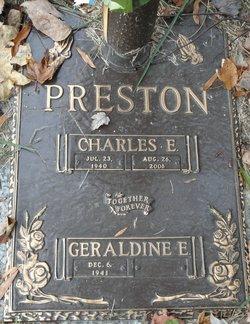 Charles E Preston
