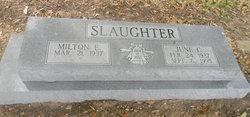 June C. <I>Kramer</I> Slaughter