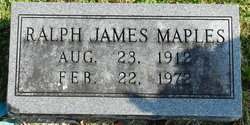 Ralph James Maples