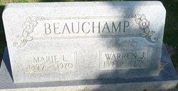 Marie Cecil <I>Lloyd</I> Beauchamp