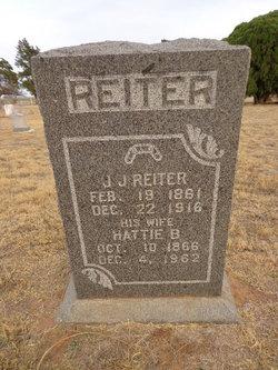 "Harriet Belle ""Hattie"" <I>Padgett</I> Reiter"