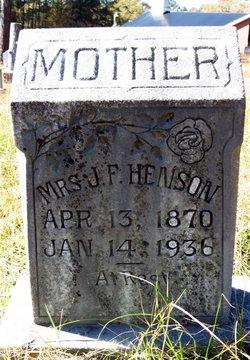 Mrs J. F. Henson