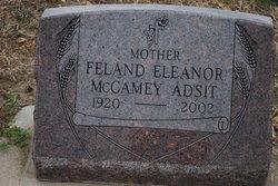 Feland Eleanor <I>McCamey</I> Adsit