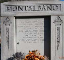 Josie <I>Montalbano</I> Miller
