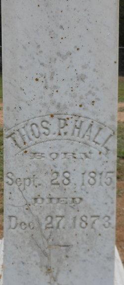 Thomas P Hall