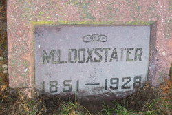 M L Doxstater