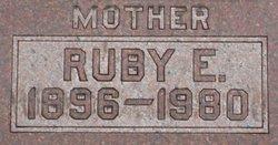 Ruby E. <I>Cox</I> Welch