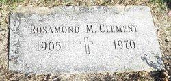 Rosamond M Clement
