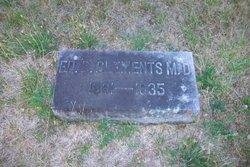 Dr Edward Bates Clements