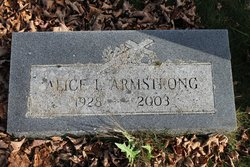 Alice L Armstrong