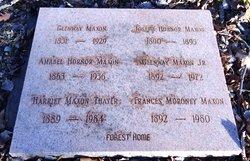 Harriet <I>Maxon</I> Thayer