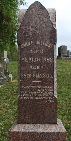 John H Holliday