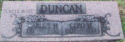 Cleo Marguerite <I>Spencer</I> Duncan