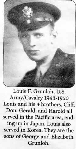 Capt Louis Francis Grunloh
