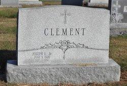 Joseph L Clement, Jr