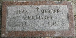 Jean <I>Mercer</I> Shoemaker